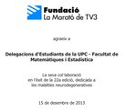 Diploma Fundació TV3
